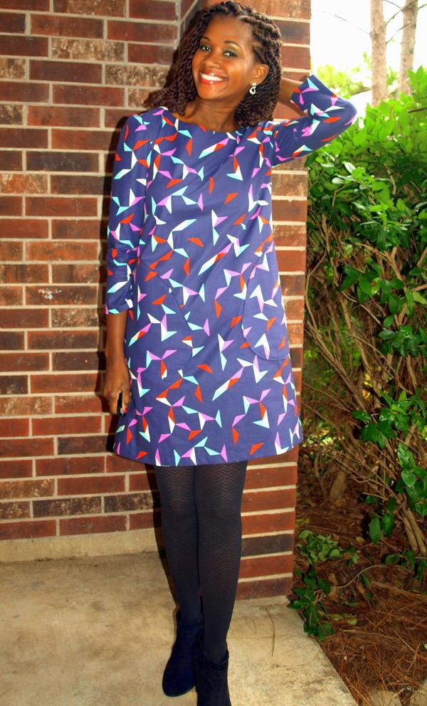 Lotta Jansdotter Esme Top/Tunic/Kaftan Esme Dress pattern review by ...