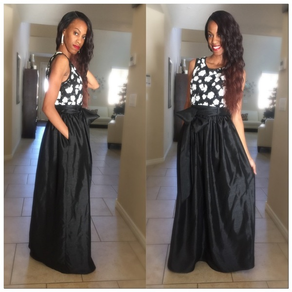 Mimi G Mimi G Regal Maxi Skirt