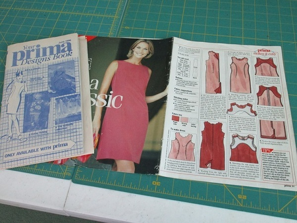 Prima Magazine Shift Dress 06-1992-1994 pattern review by julie w
