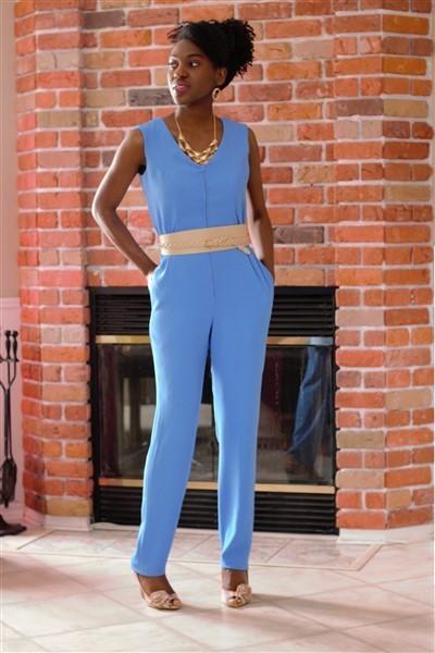 c259d864f8b McCall s 7292 Misses  Miss Petite Jumpsuits and Belt