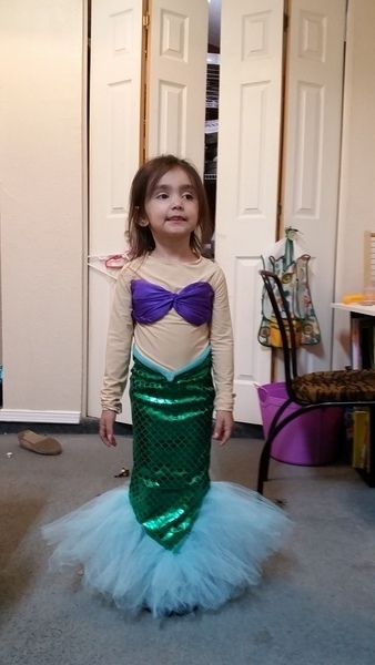 No Pattern Used Mermaid Costume Pattern Review By Carolina Torres Inspiration Mermaid Costume Pattern
