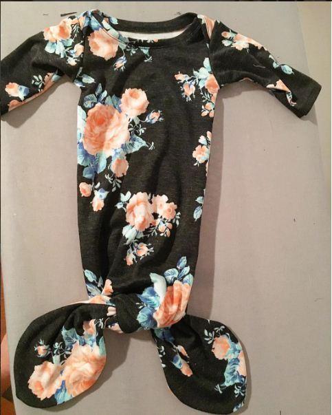 See Kate Sew 1 Mermaid Baby Gown