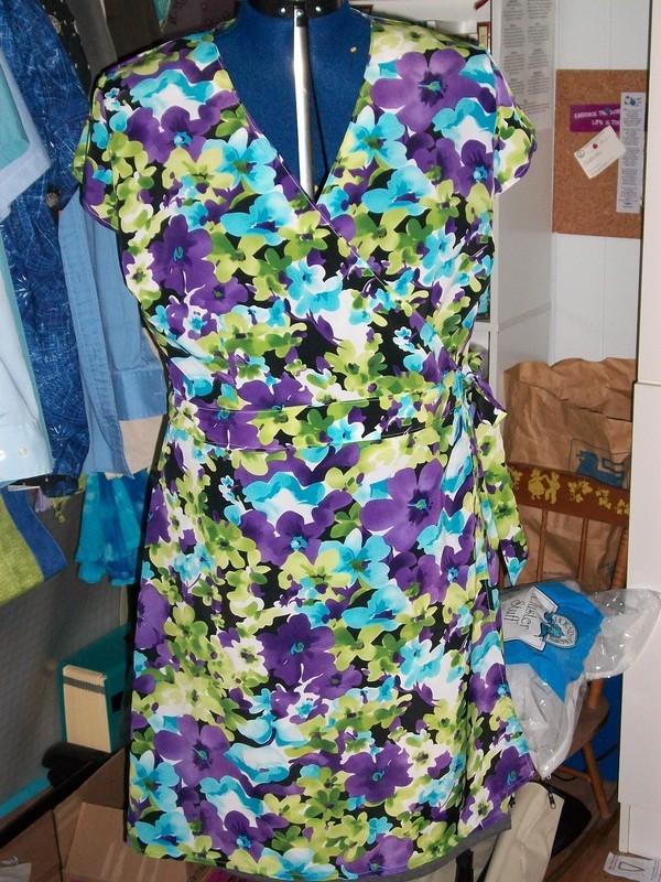 New Look 6674 Misses Wrap Dress