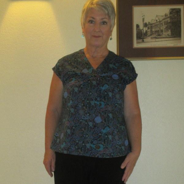 Mccalls 7359 Misses V Neck Dolman Sleeve Tops