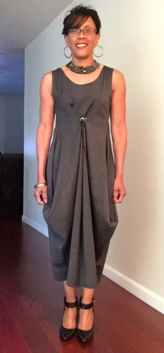Vogue Patterns Misses\' Dress 1410 pattern review by princessluv2sew