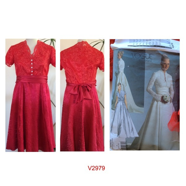 Vogue Patterns 2979 Misses 39 Misses 39 Petite Dress And Sash