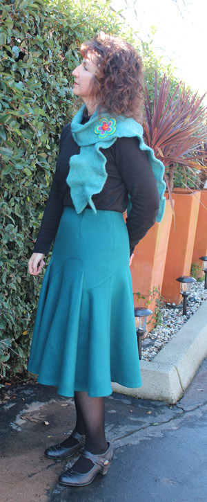 Other Asymmetrical Skirt Great British Sewing Bee pattern review by ...