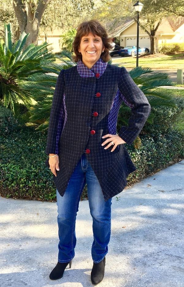 Vogue Sewing Pattern V9212 Women/'s Misses/' Seamed /& Collared Jacket