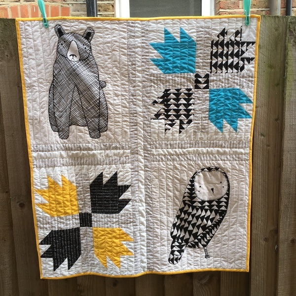 No Pattern Used Bear Paw Quilt Bear Paw Quilt