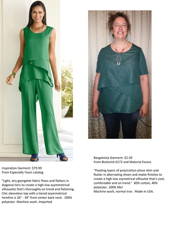 Butterick Ladies Easy Sewing Pattern 6172 Layered /& Asymmetric Tops /&...