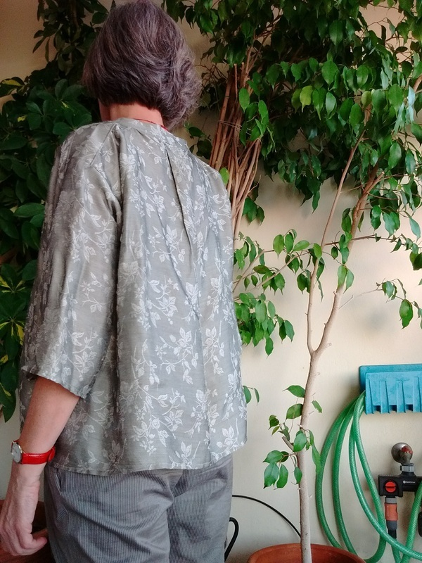 Sew Liberated Matcha top pattern review by eirenep