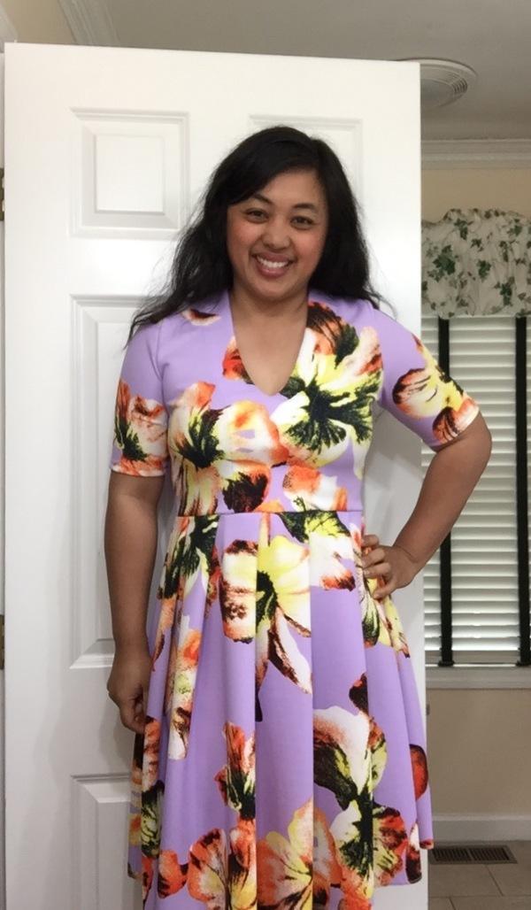 c5de003b8b Member Reviews for Named Clothing Tuuli V-neck Jersey Dress   Bodysuit  Downloadable Pattern 05-087