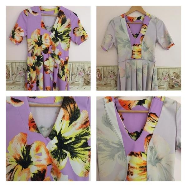 277c177740 Named Clothing Tuuli V-neck Jersey Dress   Bodysuit 05-087 pattern ...