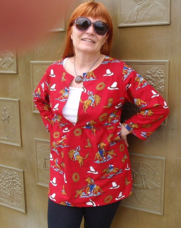 Sew Liberated Schoolhouse Tunic N106 pattern review by CShelley