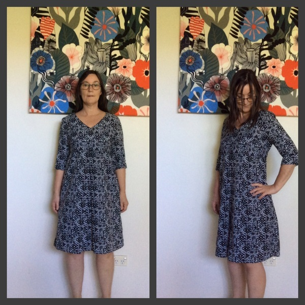 Sewing Pattern Patricia Rose Dress