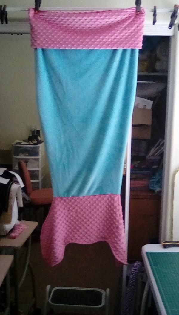 Made For Mermaids Mermaid Tail Blanket