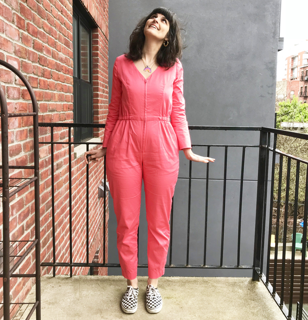 8fa7fd55c3c Member Reviews for McCall s Misses  Miss Petite Jumpsuits and Belt M7292