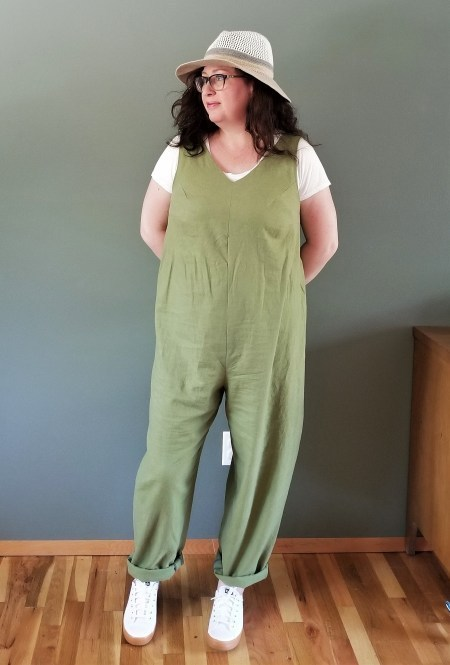 656211fb2bc In the Folds Jumpsuit pattern review by triceratopsred