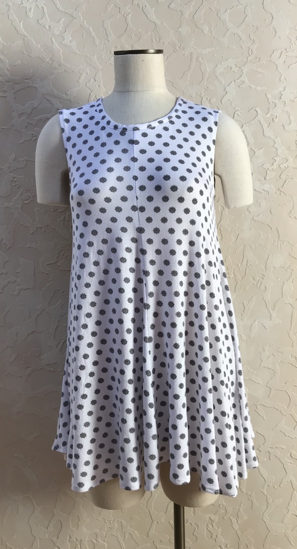 9f74a7a182f3 McCall s 7407 Misses  Flared Knit Top and Dress