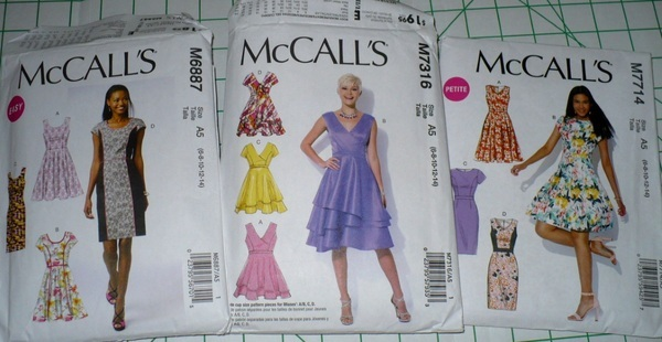 McCall/'s 7316 Misses/' Dresses    Sewing Pattern