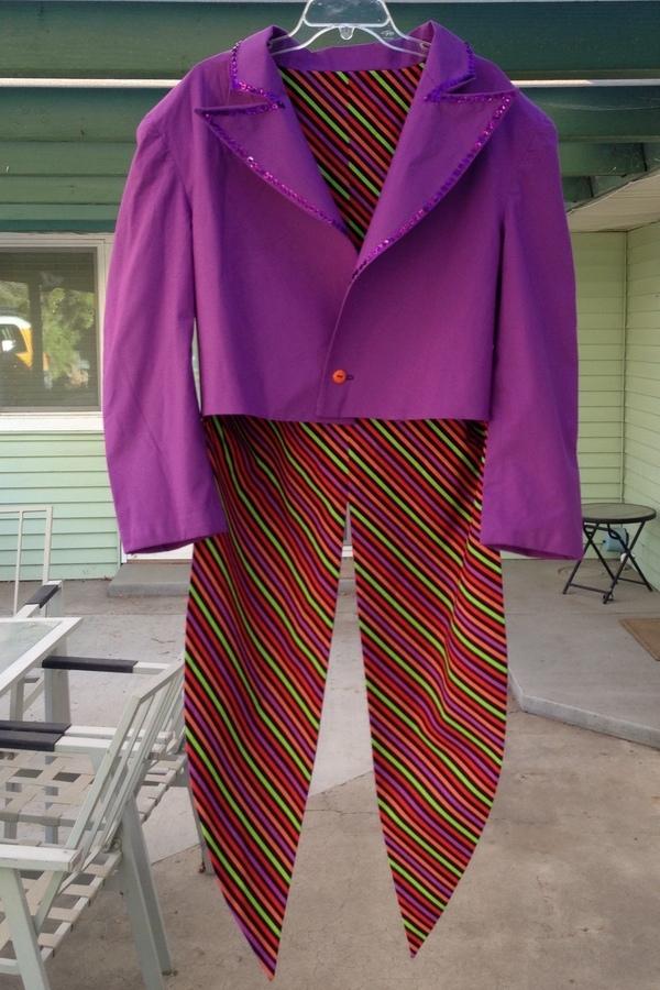 Mens Joker Costume DC Comics Simplicity Costume Sewing Pattern 46 48 50 52