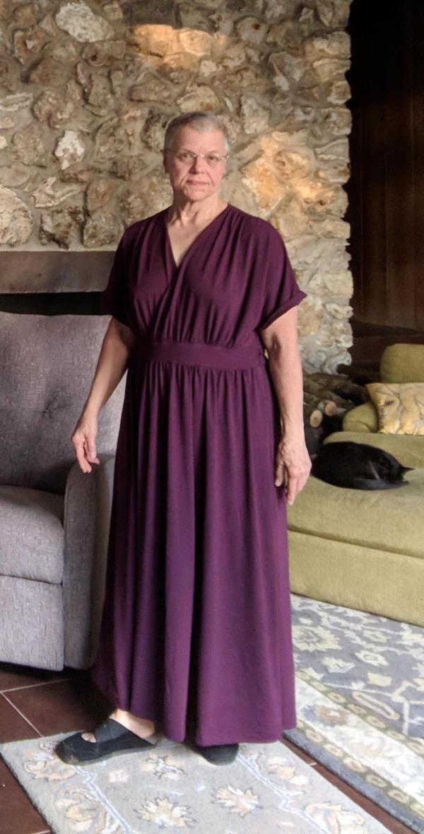 56a66a0f44 Member Reviews for Butterick Misses' Surplice Maxi Dresses Bb6308