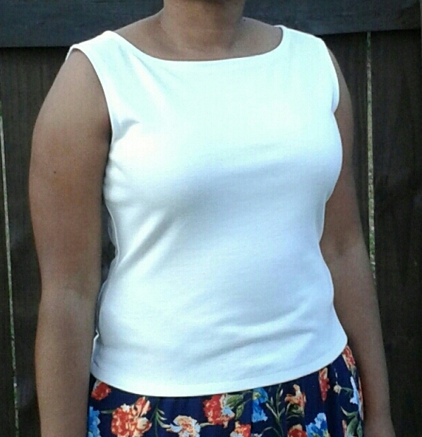 9b7637d4ee0ef2 New Look Misses Pants and Knit Tops 6838 pattern review by lsaspacey