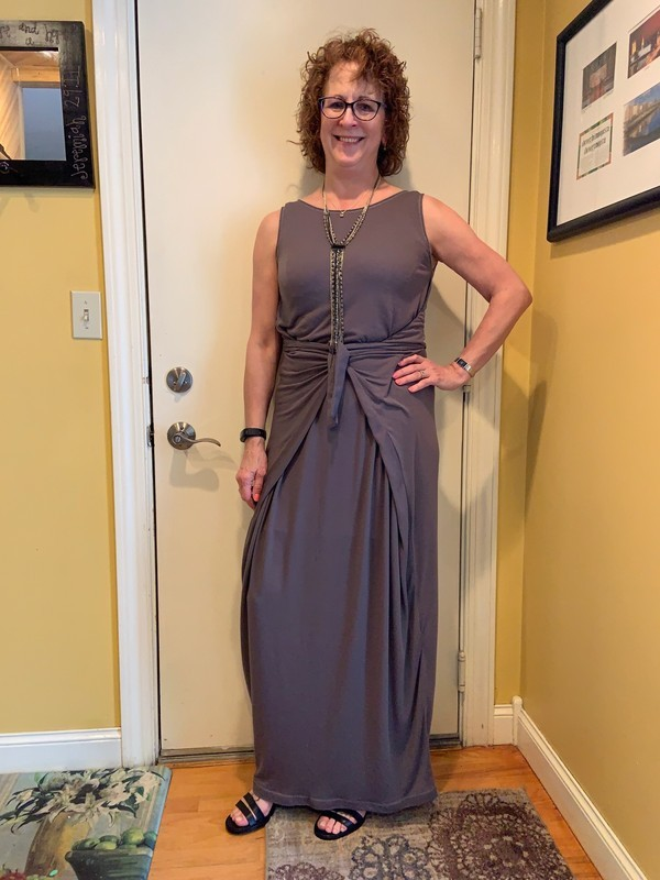 Named Clothing Kielo Wrap Dress 07 035 Pattern Review By Sue Parrott