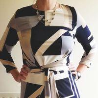 Named Clothing 07 035 Kielo Wrap Dress Downloadable Pattern