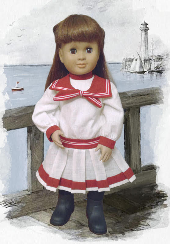 NEW Simplicity 1179 American Girl 18 Doll Clothes Pattern Victorian Dresses Coat
