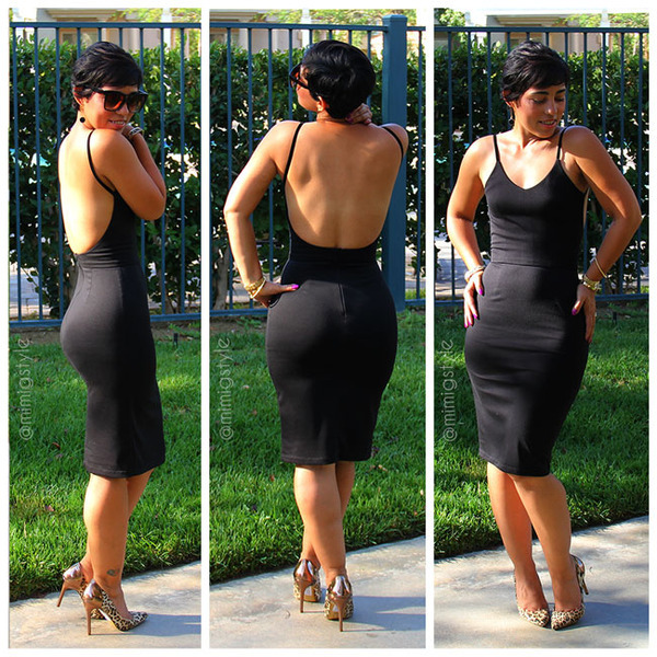 No Pattern Used Mimi G Backless